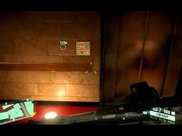 Crysis 2 - niespodzianka w windzie