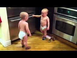 Poważna rozmowa dzieci