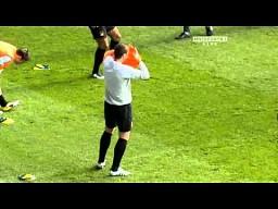 Edin Dzeko żartuje z Balotelliego