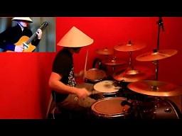 Gitarowy mistrz z perkusją