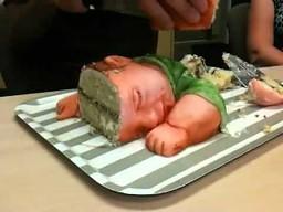 Najstraszniejszy tort urodziny