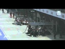 Jenson Button - pomyłka w pit-stopie