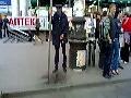 Schorowany ukraiński milicjant
