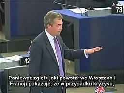 Nigel Farage daje Barroso lekcję demokracji