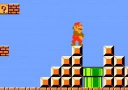 Mario wchodzi nie do tej rury