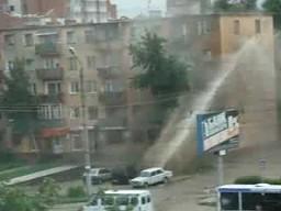 Tak się myje okna w Rosji