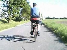 Komplemenciarz na rowerze