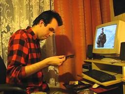 Kamil Steinbach odpala GTA 4