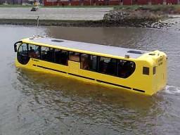 Szalony kierowca żółtego autobusu