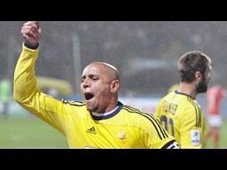 """Roberto Carlos """"zaatakowany"""" bananem"""