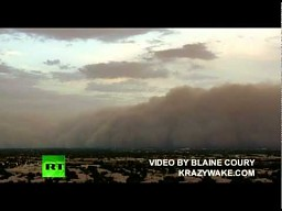 Burza piaskowa nad Arizoną