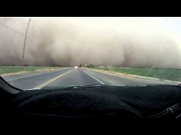 Przejazd przez burzę piaskową