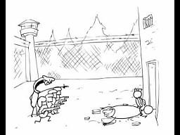 Policja versus więzień