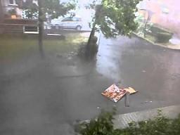 Potężna burza w Małopolsce