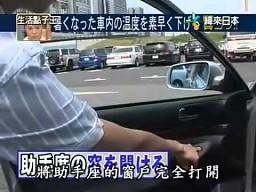 Sposób na ochłodzenie wnętrza samochodu
