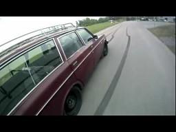 Lekko przerobione Volvo 245