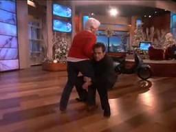 Jim Carrey zgadza się na wszystko u Ellen