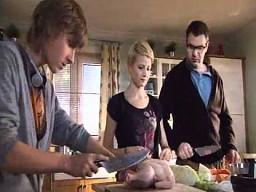 Rodzinna praca w kuchni