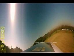 Interesujące nagranie z kamery umieszczonej na wirniku helikoptera RC