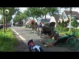Końska kraksa w Holandii
