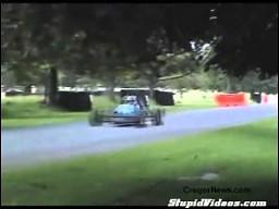 Mewa lubi ostrą jazdę