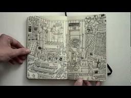 Inspirujące rysunki z notatnika Mattiasa Adolfssona