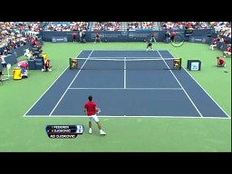 South Park Tennis: Timmy (Federer) vs Cartman (Djokovic)