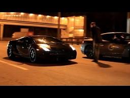 Lamborghini Gallardo Nera vs Nissan GT-R  | DragTimes.info