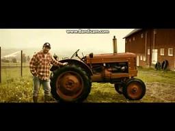 Reklama norweskich czipsów Kims Traktor