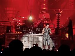 Tymczasem na koncercie Rammstein