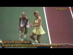 Roztańczona Caroline Wozniacki