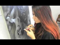 Malowanie Assassins Creed'a aerografem