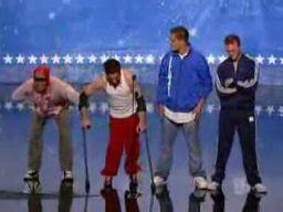 Niepełnosprawny breakdancer w America's got talent