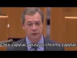 Nigel Farage na temat Hermana van Rompuya