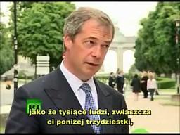 Nigel Farage - Pogrzeb Euro