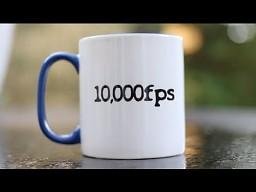 Kubek - ziemia (10,000fps)