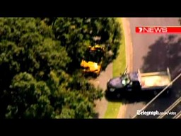 Australia: Uciekał porsche na trzech kołach