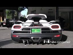 Piękne dźwięki egzotycznych samochodów
