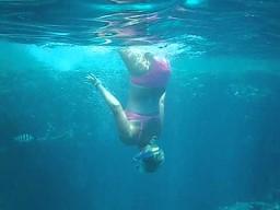 Nie mogę zejść pod wodę!