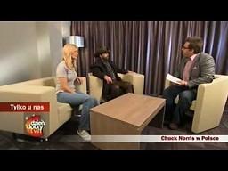 Polska odwiedziła Chucka Norrisa
