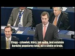 Nigel Farage: UE wprowadza Unię Fiskalną tylnymi drzwiami