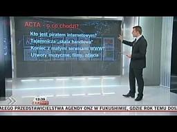 Jeszcze trochę o ACTA, protestach i mediach