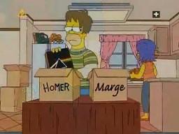 Homer Simpson - podział majątku