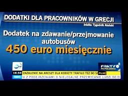 Dodatki dla pracowników w Grecji