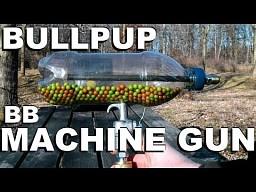 Broń na kulki z plastikowej butelki