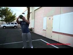 Hardcorowy Koksu przygotowuje sie na MMA ATTACK