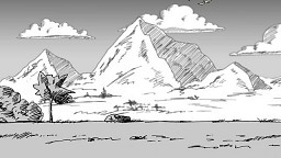 Krajobraz z kaczką (i krową)