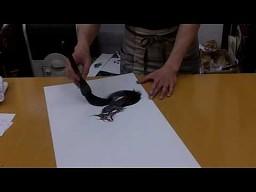 Japoński malarz smoków