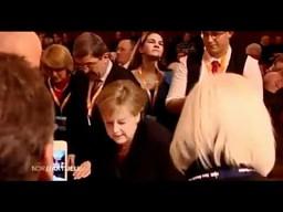 Piwna kąpiel Angeli Merkel