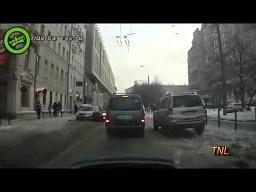 Kompilacja wypadków z rosyjskich dróg 1 - 2012 || TNL